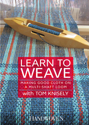 Learn to Weave: Making Good Cloth on a Multi-shaft Loom Video DownloadImage