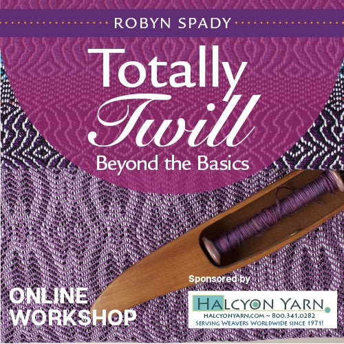 Totally Twill: Beyond the Basics Online WorkshopImage
