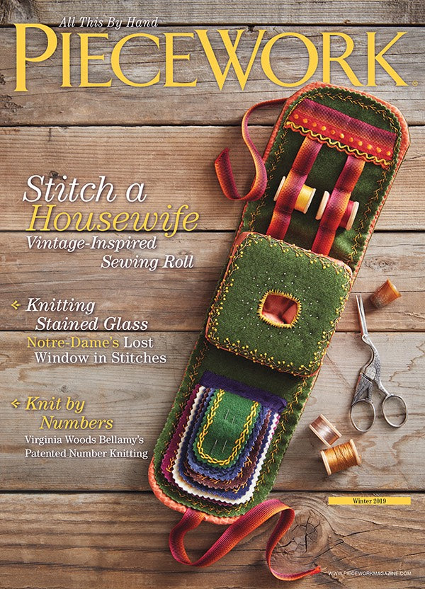 PieceWork Winter 2019