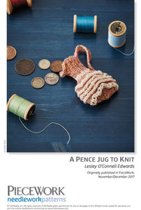 A Pence Jug to Knit Pattern DownloadImage