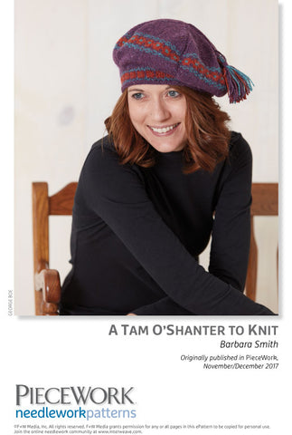 A Tam O'Shanter to Knit Pattern DownloadImage
