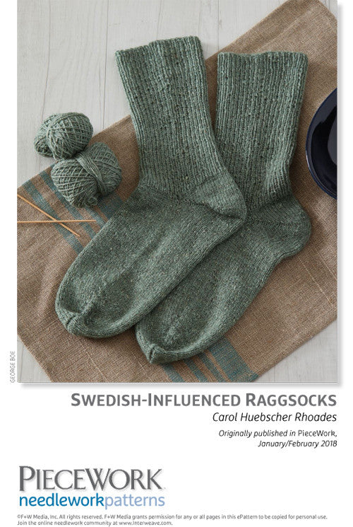Swedish-Influenced Raggsocks Pattern DownloadImage