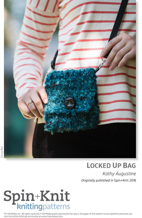 Locked Up Bag Spinning Knitting Pattern DownloadImage