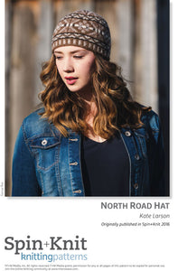 North Road Hat Spinning Knitting Pattern DownloadImage