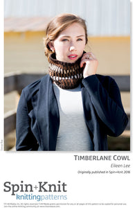 Timberlane Cowl Spinning Knitting Pattern DownloadImage