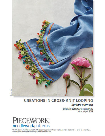 Creations in Cross-Knit Looping Pattern DownloadImage