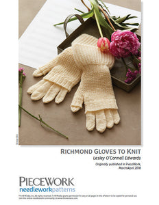 Richmond Gloves to Knit Pattern DownloadImage