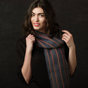 Take It Easy Scarf Weaving Pattern DownloadImage