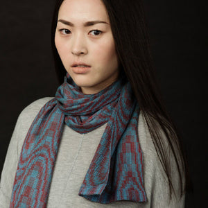 Jin Silk Scarf Weaving Pattern DownloadImage