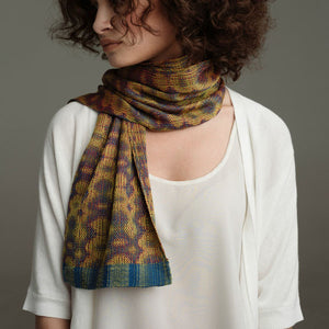 Jin Silk Scarf 8-Shaft Weaving Pattern DownloadImage