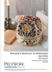 Molires Nightcap to Embroider and Sew Pattern DownloadImage