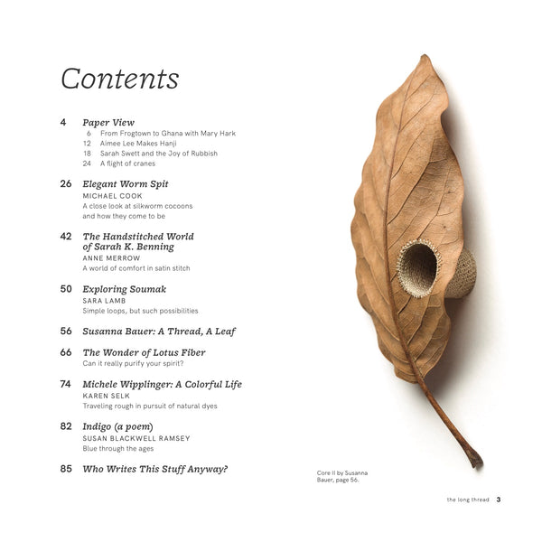 The Long Thread Special Issue
