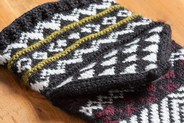 Xanthi Socks and Leggings Knitting Pattern