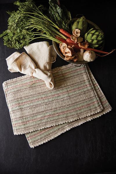 Handwoven Presents: Top Ten Rigid-Heddle Table and Kitchen Linens