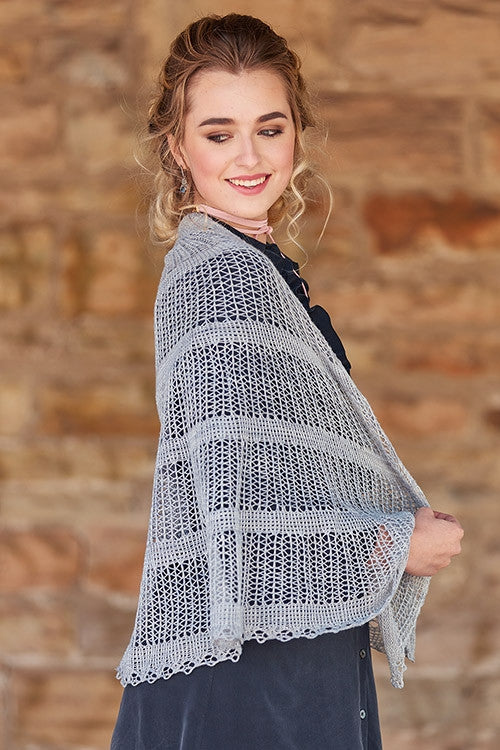 Crystal Palace Shawl Knitting Pattern DownloadImage
