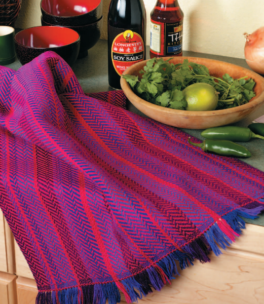 Best of Handwoven: Yarn Series--A Dozen Projects in 10/2 Cotton eBook