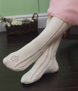 Queen Victoria's Stockings to Knit - A Modern Take Knitting Pattern DownloadImage