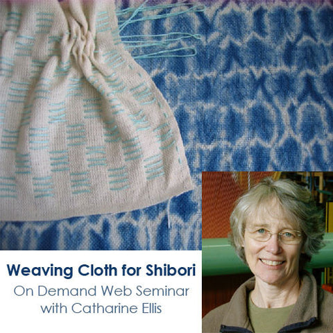 Weaving Cloth for Shibori: for Four Shafts or Fewer OnDemand Web Seminar Image