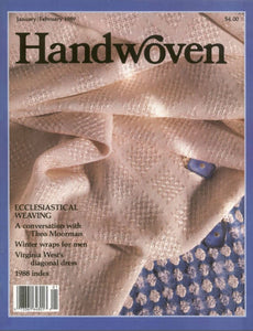 Handwoven, January/February 1989 Digital EditionImage