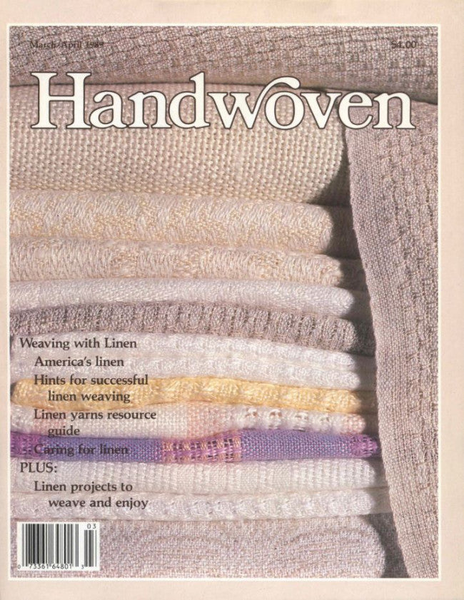 Handwoven, March/April 1989 Digital EditionImage
