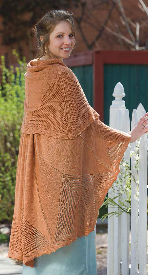 Compass Rose Shawl to Knit Knitting Pattern DownloadImage
