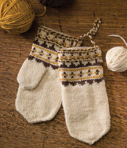 Skolt Sámi Mittens Knitting Pattern DownloadImage