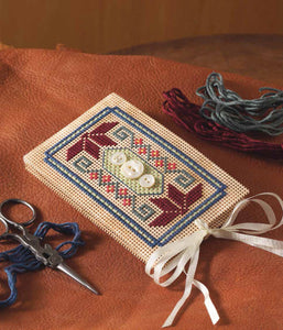A Perforated-Paper Needle Book to Cross-Stitch Pattern Image
