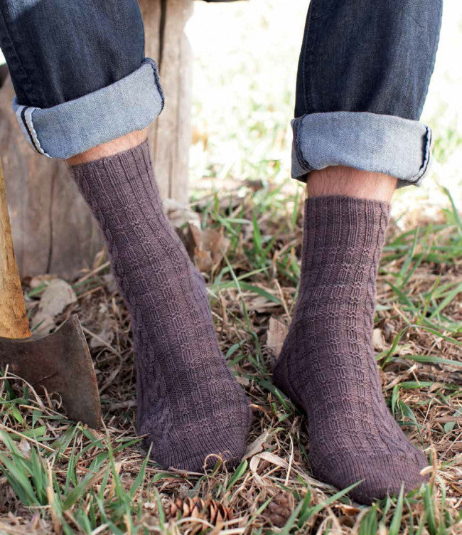 Woodcutter Socks Knitting Pattern DownloadImage