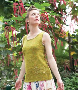Butterfly Fairy Tank Knitting Pattern DownloadImage
