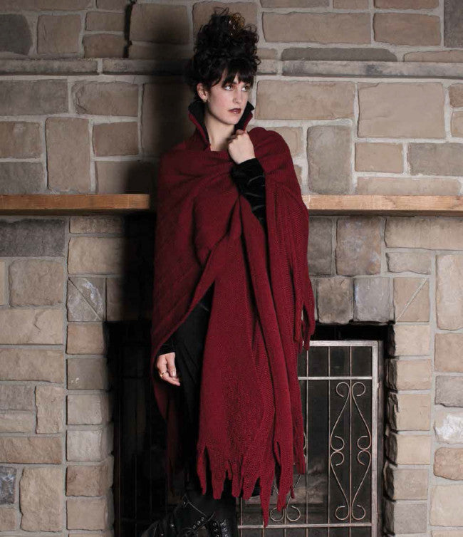 Maleficent's Cloak Knitting Pattern DownloadImage