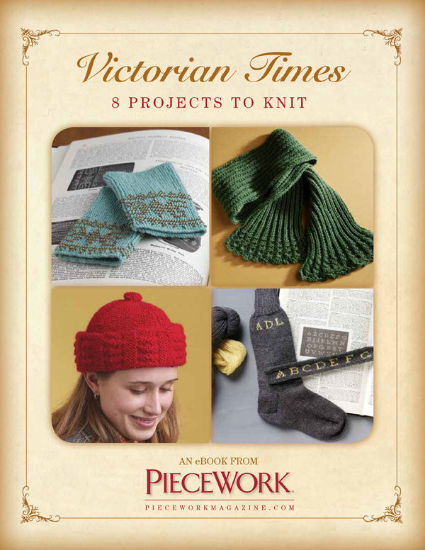 Victorian Times eBook: 8 Projects To KnitImage