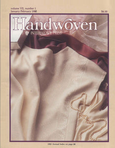 Handwoven, January/February 1986 Digital EditionImage