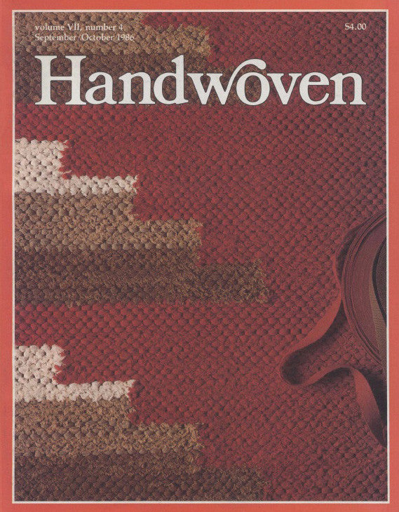 Handwoven, November/December 1986 Digital Edition Image