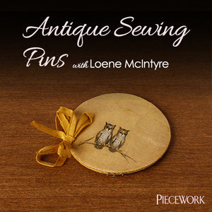 Antique Sewing Pins Video DownloadImage