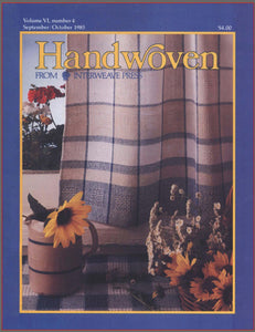 Handwoven, September/October 1985 Digital EditionImage