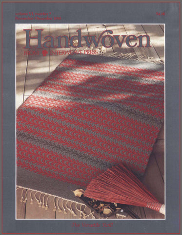 Handwoven, November/December 1985 Digital EditionImage