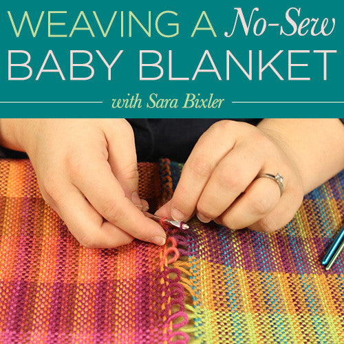 Weaving a No Sew Baby Blanket Video DownloadImage
