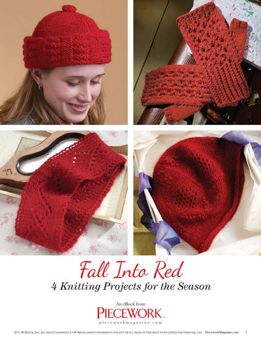 Fall Into Red eBook: 4 Knitting Projects for the SeasonImage