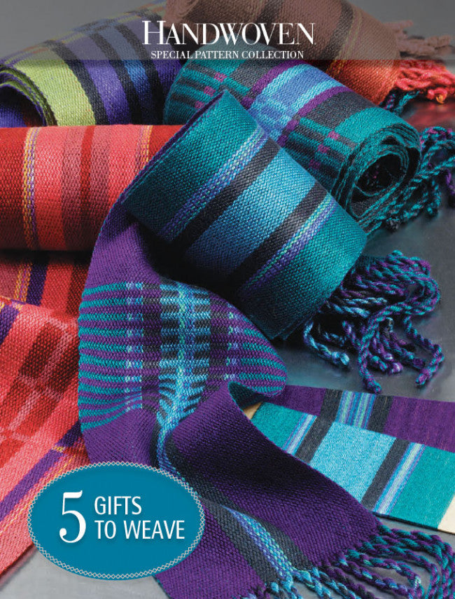 Handwoven Special Pattern Collection: 5 Gifts to WeaveImage