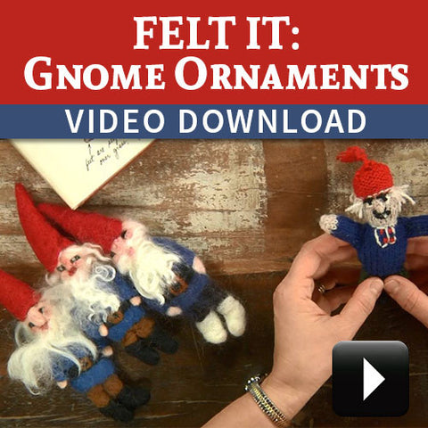 Felt-It: Gnome Ornaments Video DownloadImage