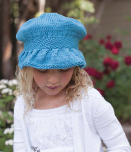 Catherine's Bonnet Knitting Pattern DownloadImage