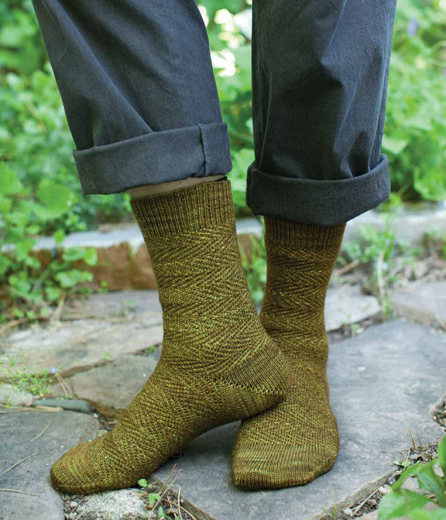 Socks for Mr. Bennet's Leisure Needlework PatternImage