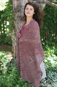 Dashwood Lace Stole Knitting Pattern DownloadImage