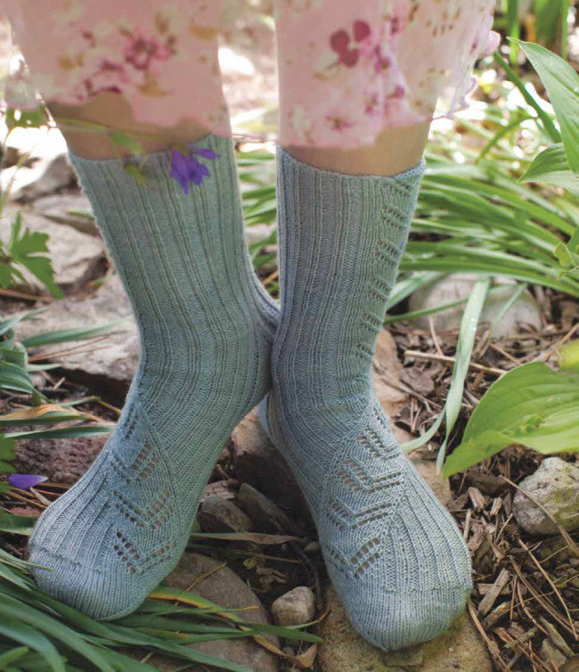 Almost Pretty Stockings Knitting Pattern DownloadImage