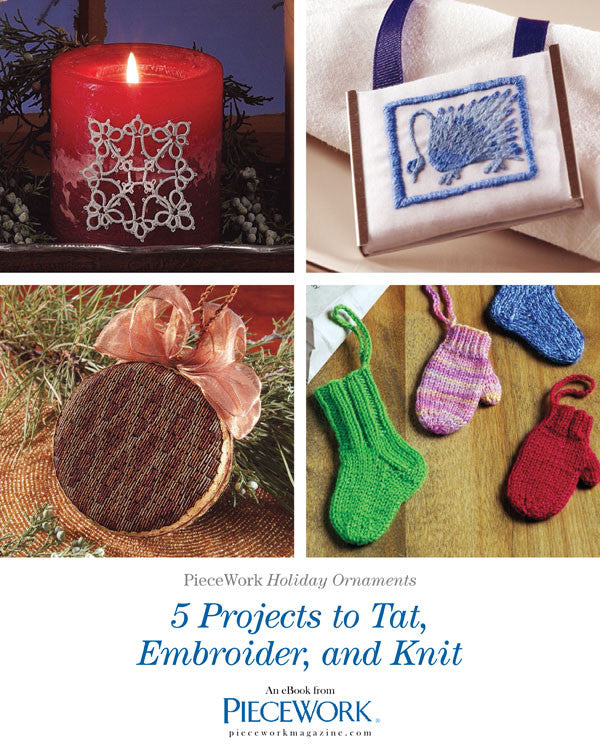 PieceWork Holiday Ornaments eBookImage