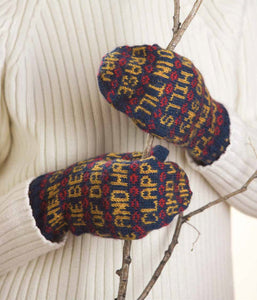 Poetry Mittens to Knit 2.0  Knitting Pattern DownloadImage