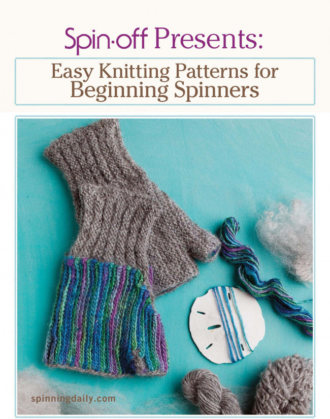 Easy Knitting Patterns for Beginning Spinners eBookImage