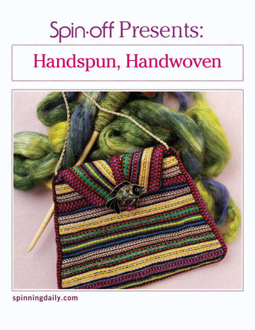 Spin-Off Presents: Handspun, Handwoven eBookImage