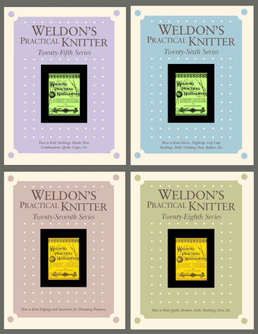 Weldon's Practical Knitter, Series 25-28 eBook SetImage