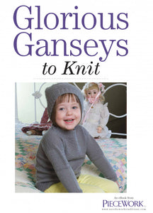 Glorious Ganseys to Knit Knitting Pattern eBookImage